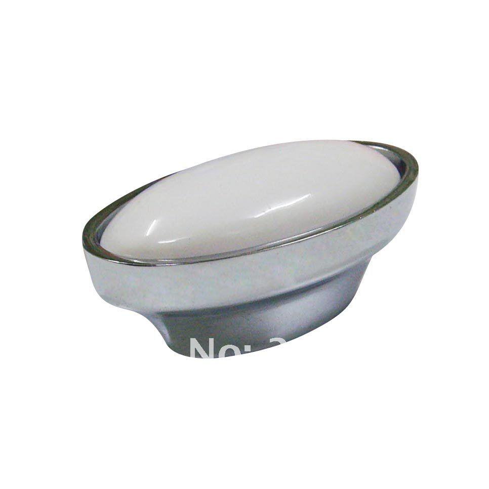 silve white furniture hardware handles knobs ceramic furniture drawer