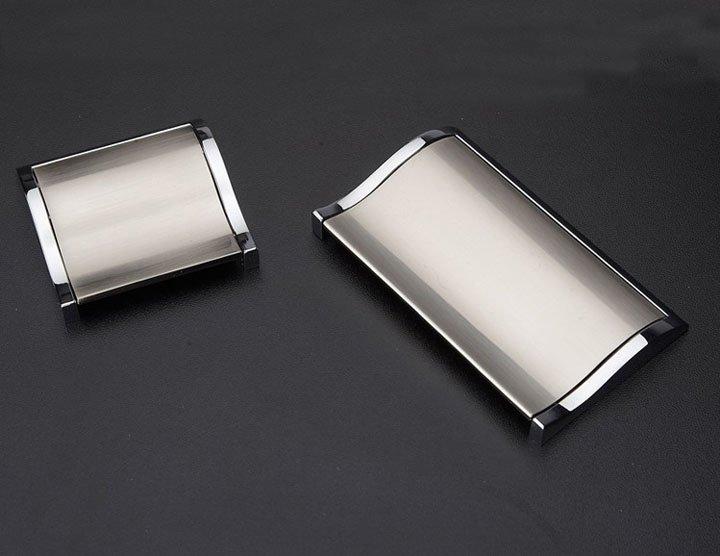 Modern Cabinet Knobs Edgecliff Pull Natural Brass Hot Sale 128mm