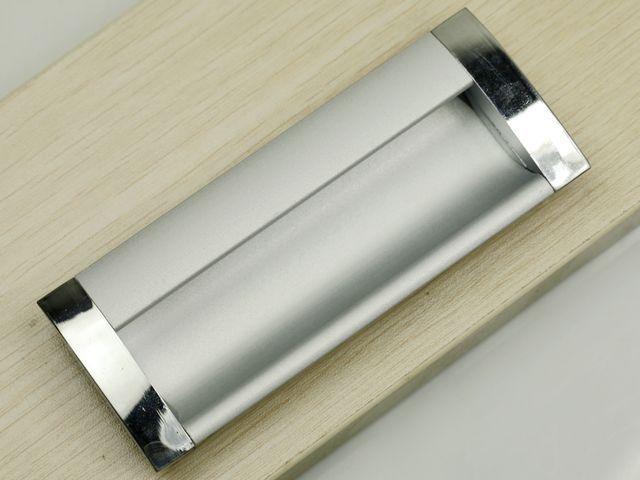 Attractive 96mm Embeded Pull Handle Aluminium/ Cabinet Handle Aluminium/ Drawer  Concealed Handle / Drawer Pull1058